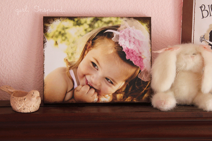 DIY Canvas Photos -easy!