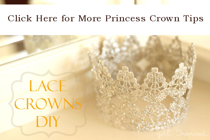 More Lace Princess Crown Tips