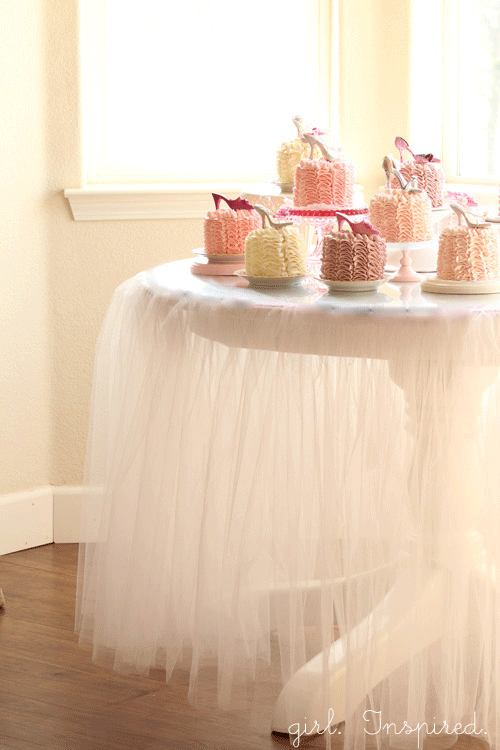 Tutu Tablecloth Tutorial