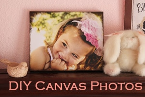 Canvas Photos DIY