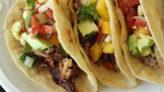 Carnitas Tacos and Fresh Mango Salsa (Recipe)