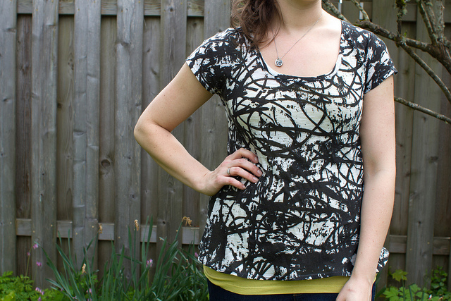 Free Scoop Shirt Pattern