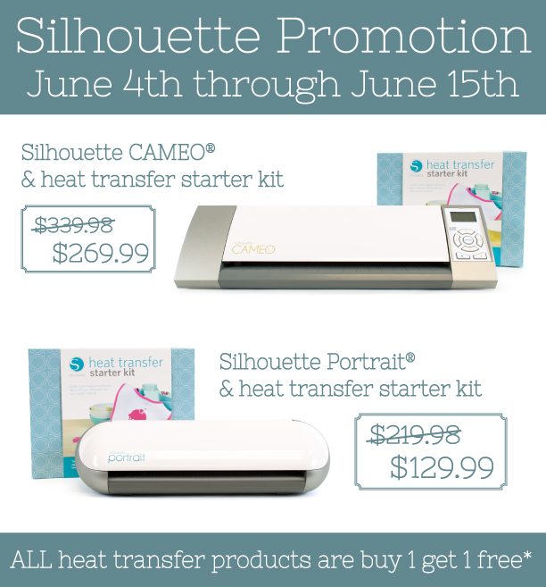 June Silhouette Promotion