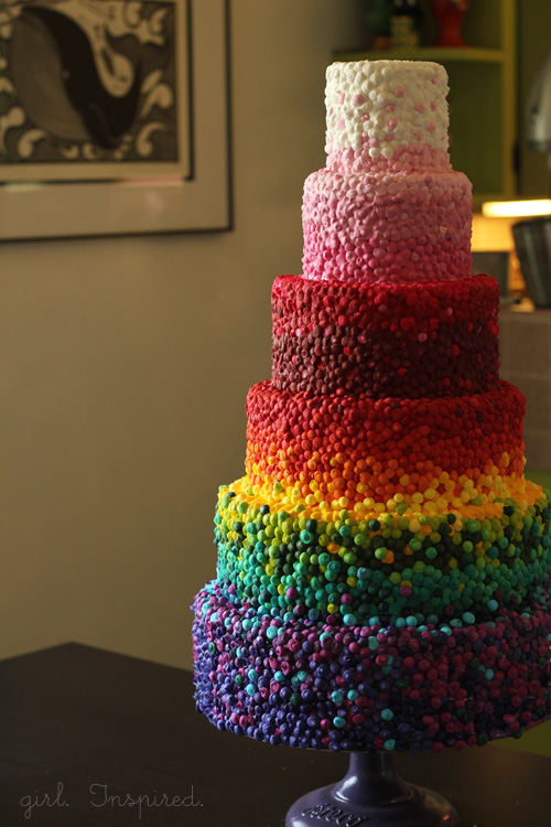 Rainbow Layer Cake Recipes — Dishmaps