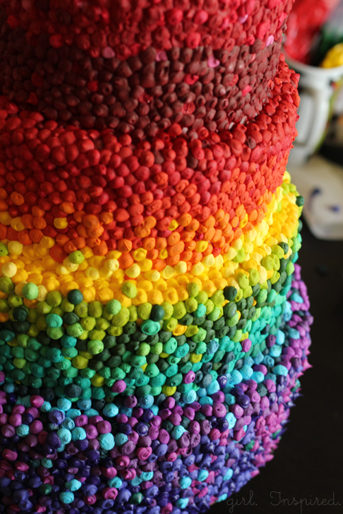 Rainbow Cake by Girl. Inspired.