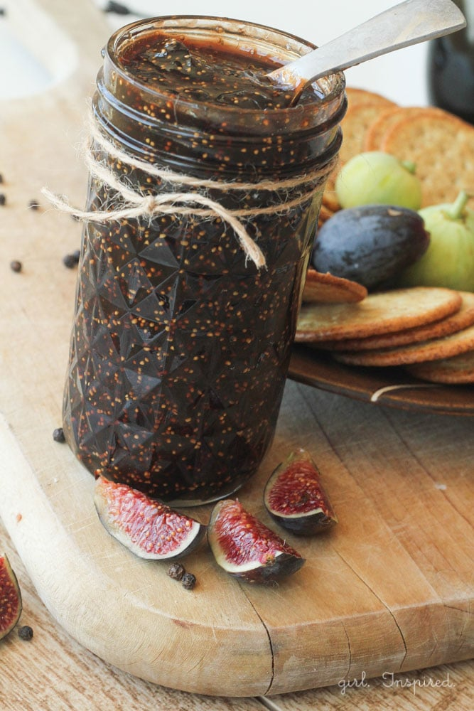 Balsamic Peppercorn Fig Jam