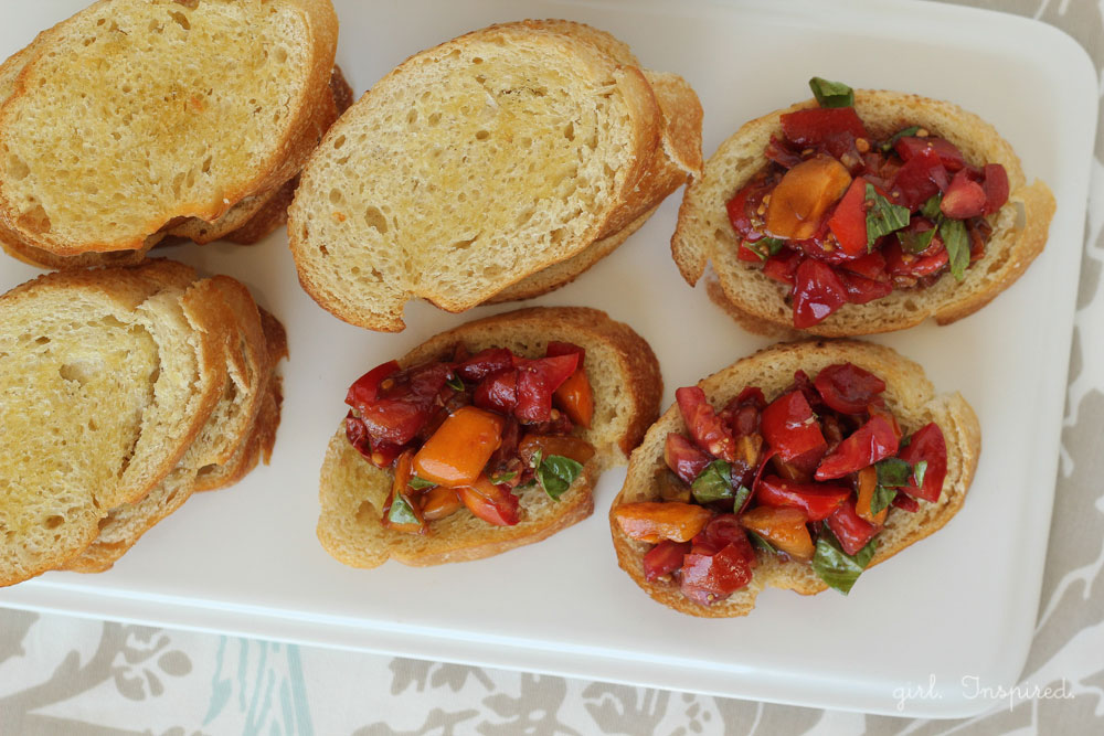 Make Bruschetta at home