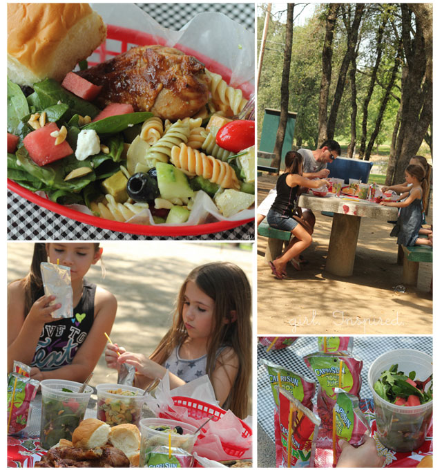 Great Picnic Recipes and Capri Sun