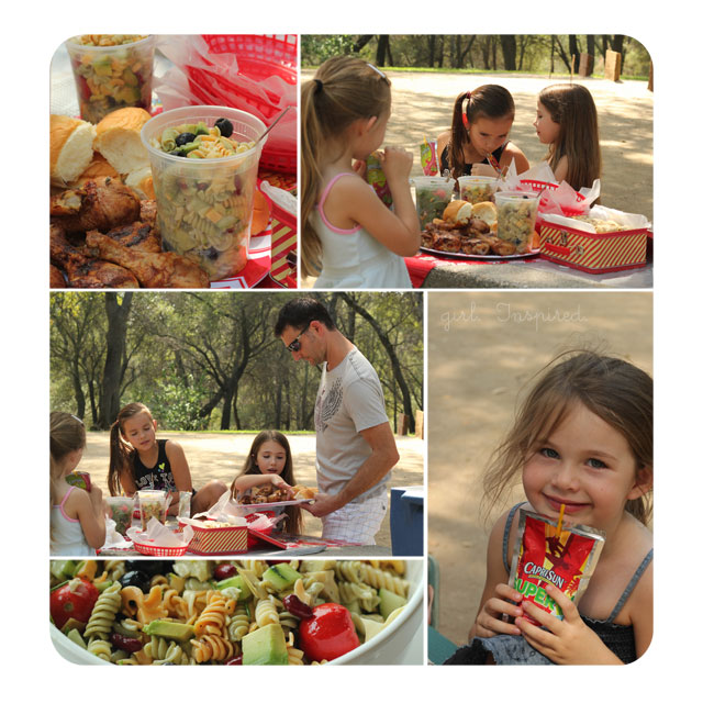 Picnic Recipes and Capri Sun