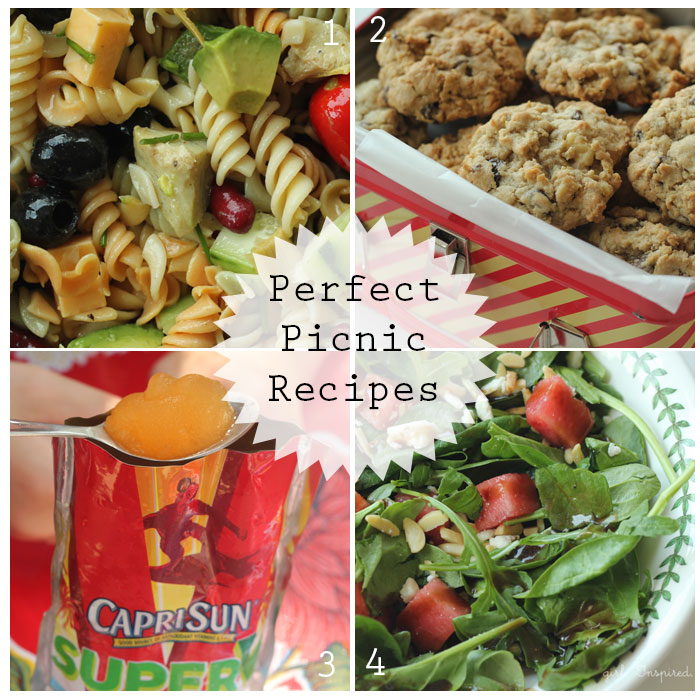 Perfect Picnic Recipes and Capri Sun