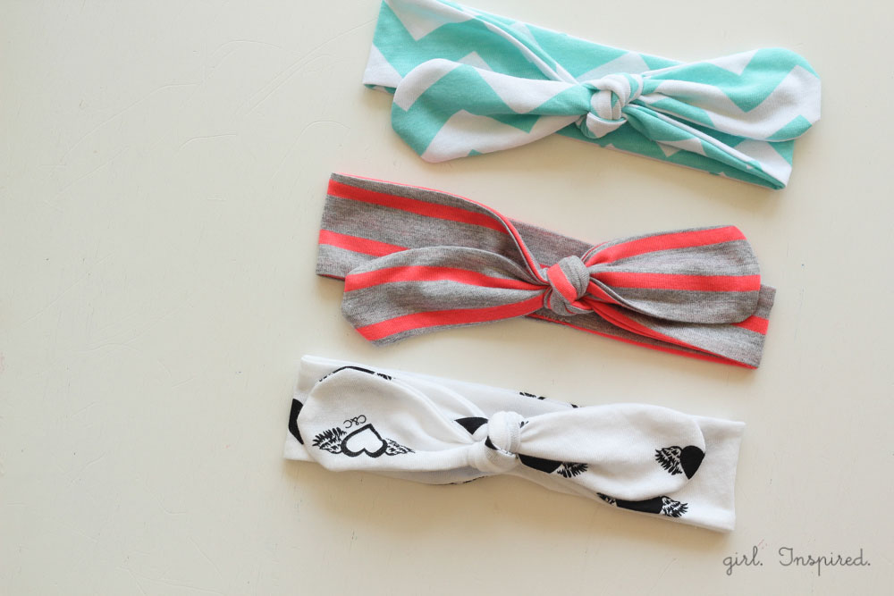 Knot Headbands Diy Girl Inspired
