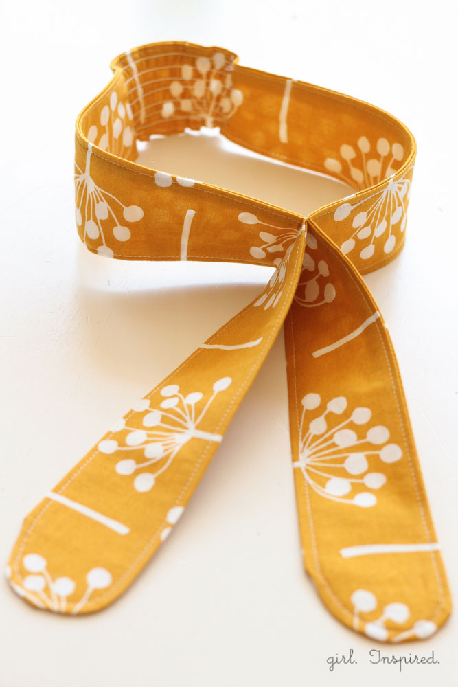 Knot Headbands DIY with quilting cotton