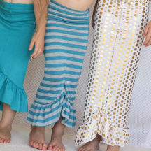30-minute Mermaid Skirt Tutorial