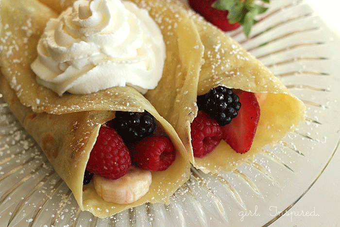 Crepes Recipe - these are delicious!