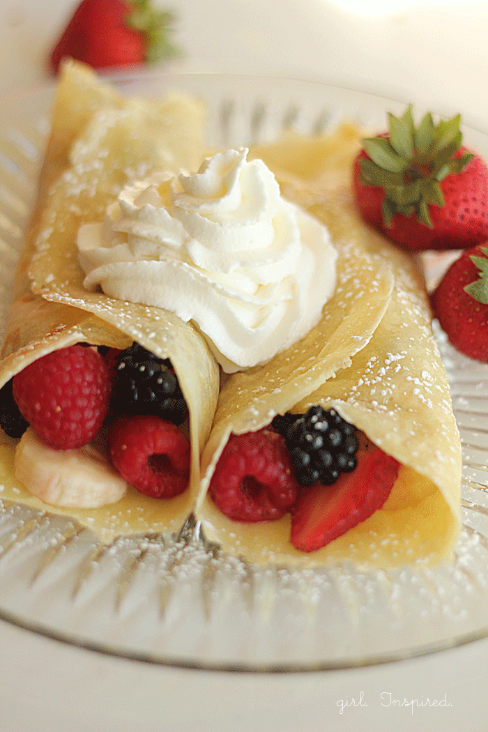 Perfect Weekend Crepes Recipe — Dishmaps