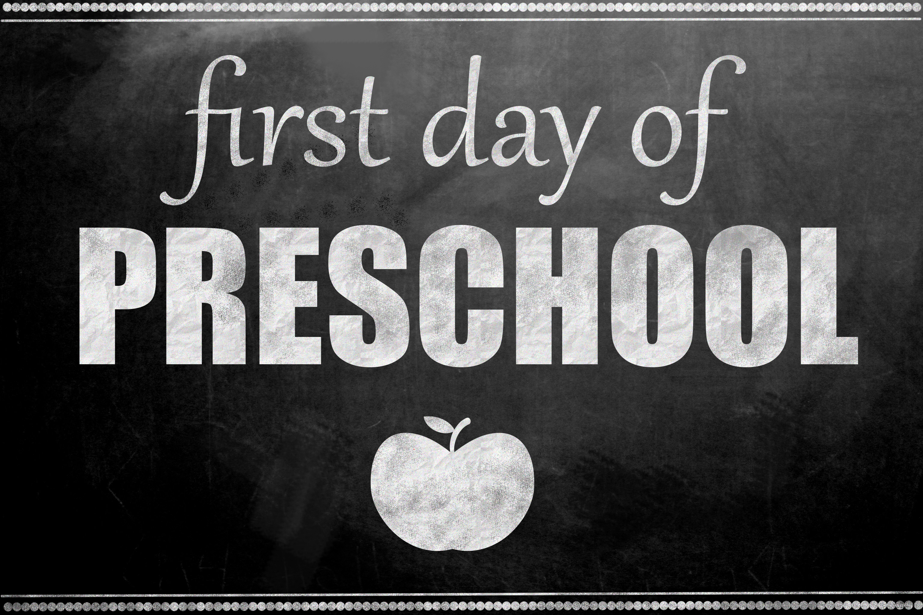 first day of preschool printable printables archives inspired 616