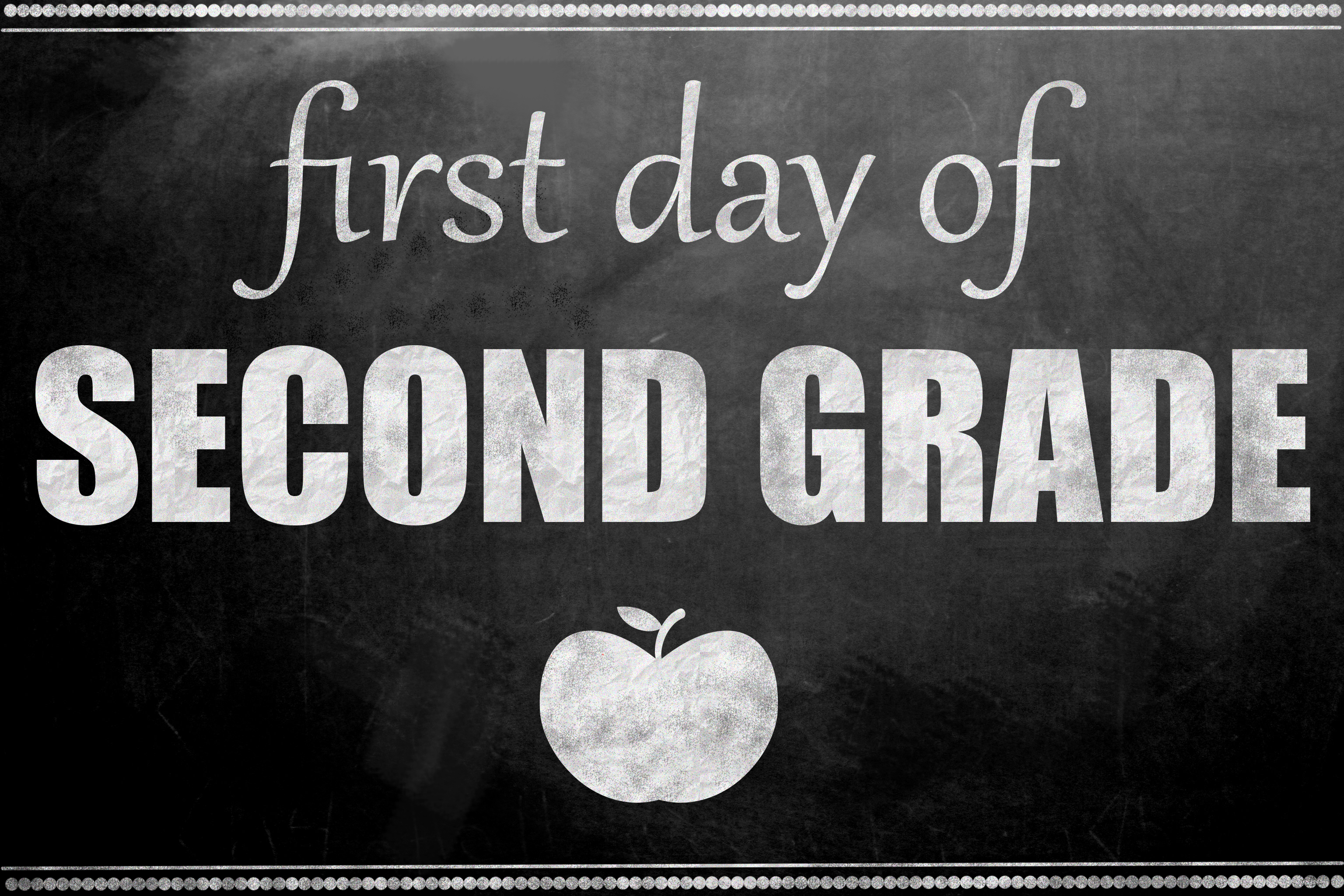 photo regarding First Day of 2nd Grade Printable Sign named To start with Working day of Higher education Printable Signs or symptoms - woman. Impressed.