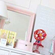 Vintage Candy Shoppe Bedroom Makeover