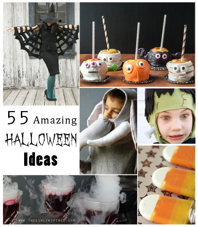 55 Amazing Halloween Ideas: Recipes, Crafts, and Costumes