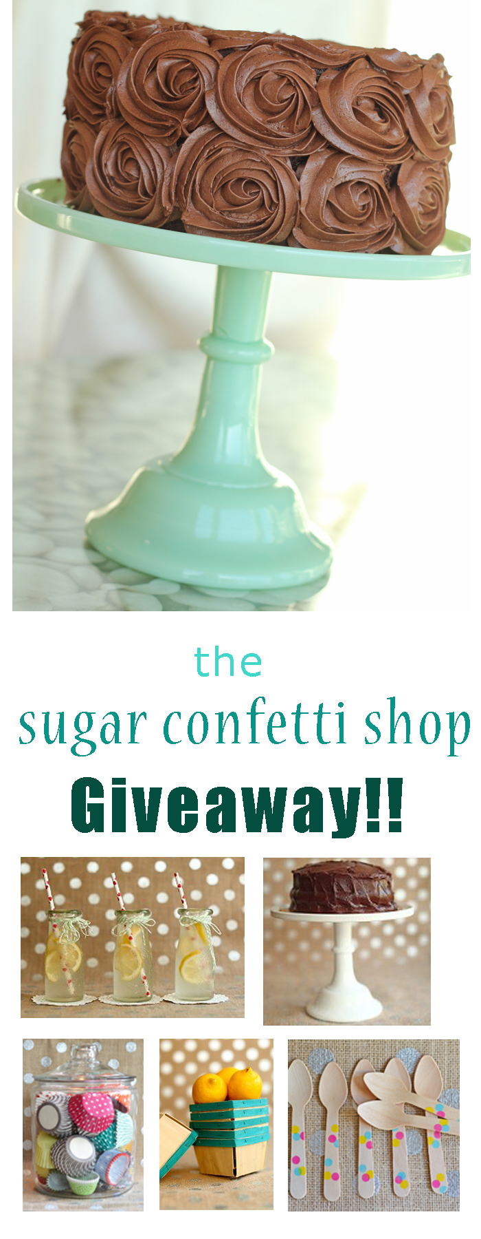 Sugar Confetti Shop giveaway!