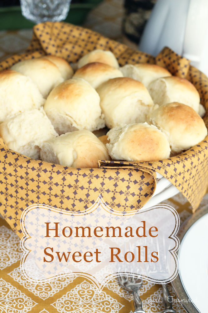 Homemade Dinner Rolls Recipe Girl Inspired