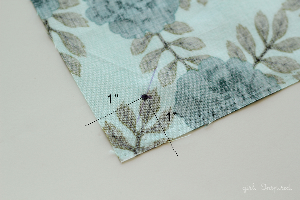 Easy sew dinner napkins