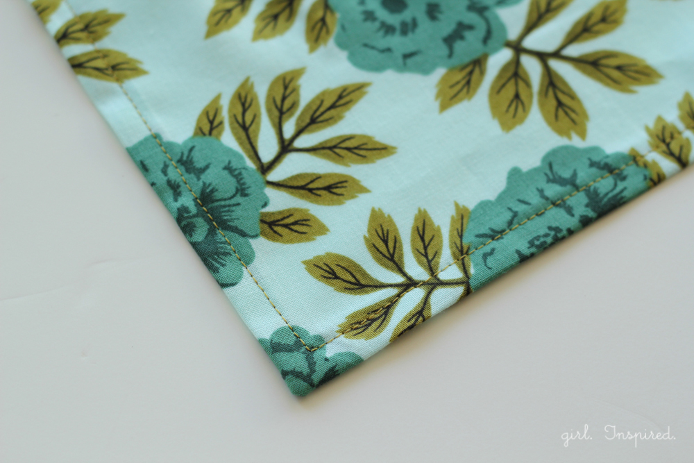 Sewing Table Napkins