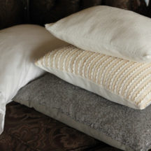 Add some sparkle for the holidays with these Sequin Sofa PIllows!