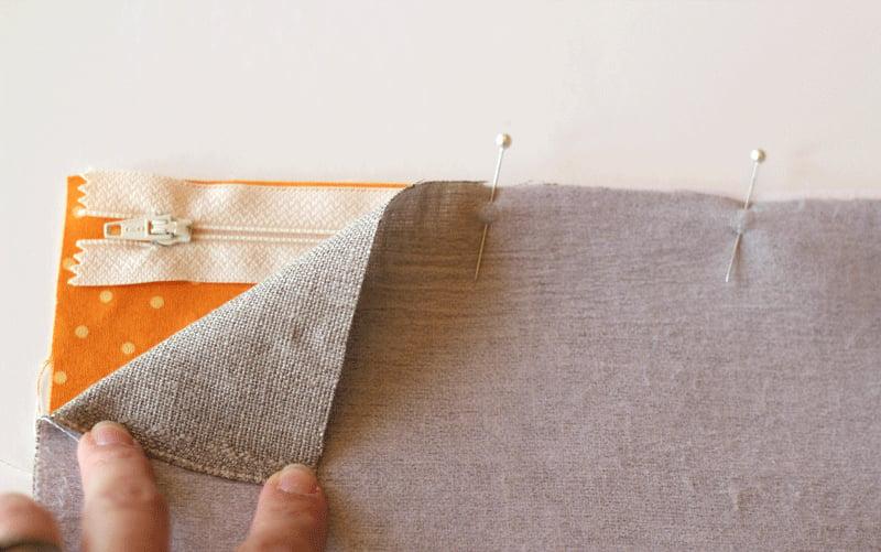 Simple Sewn Clutch Tutorial