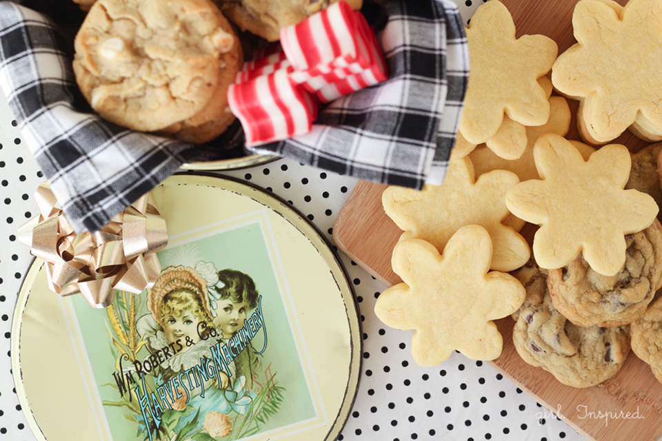 How to start a Cookie Tin Family Tradition!
