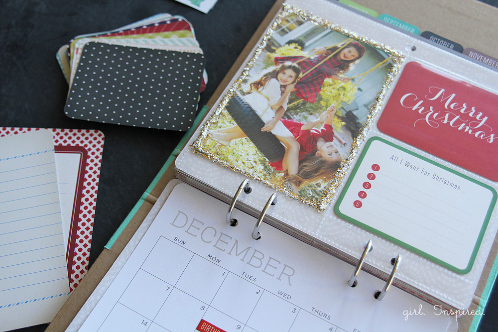 Calendar Kit Gift Idea - Girl. Inspired.