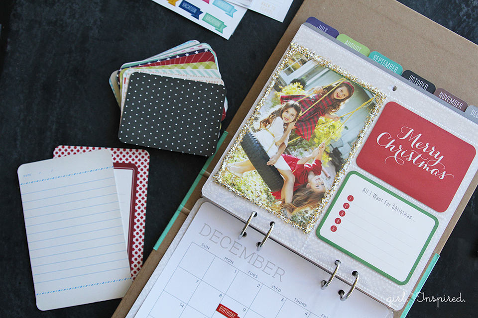 Calendar Kit Ideas : Calendar kit gift idea girl inspired