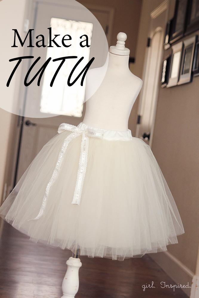 make tutu gown