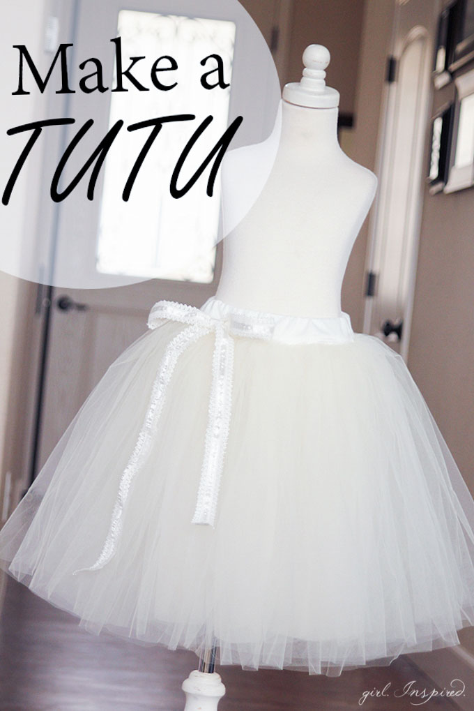 How to Make a Tutu like this white tutu with white ribbon