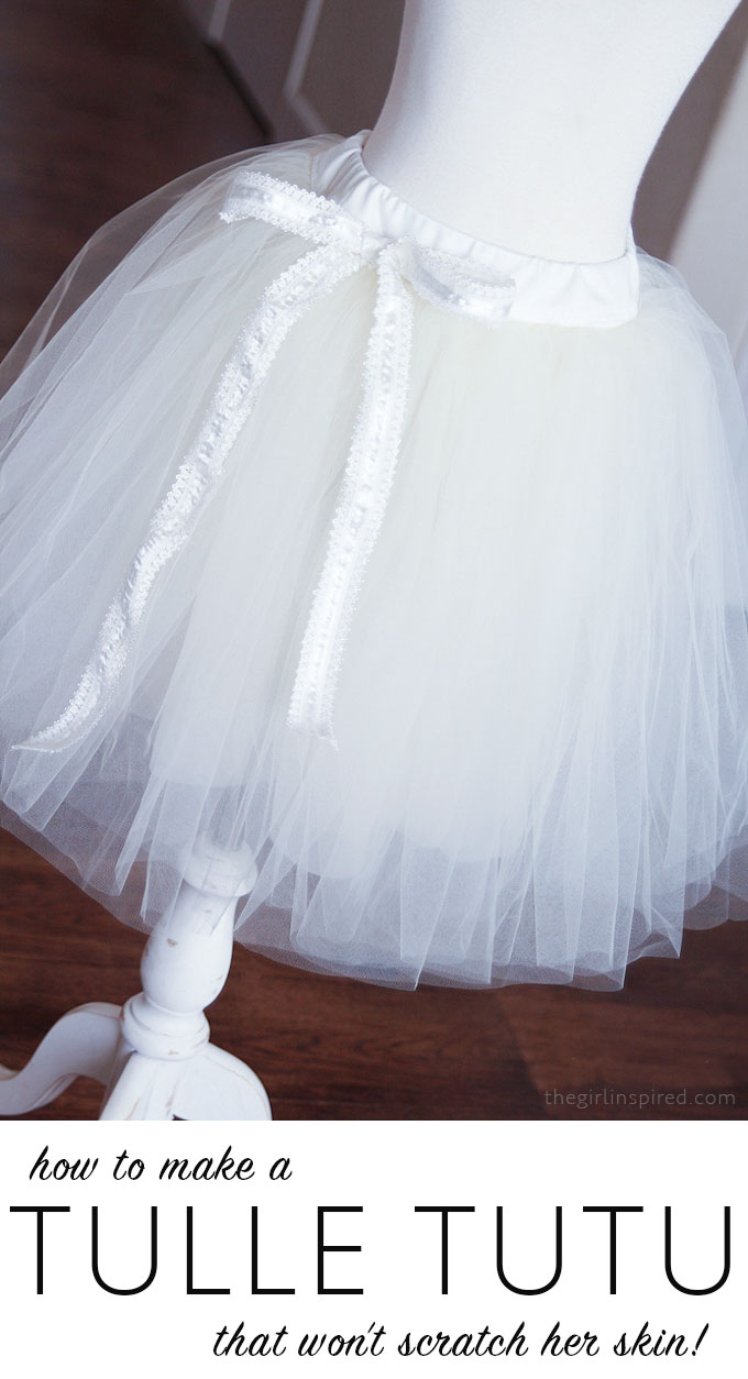 26236bc8a8 How to Make a Tutu that won't scratch your little girl's skin!