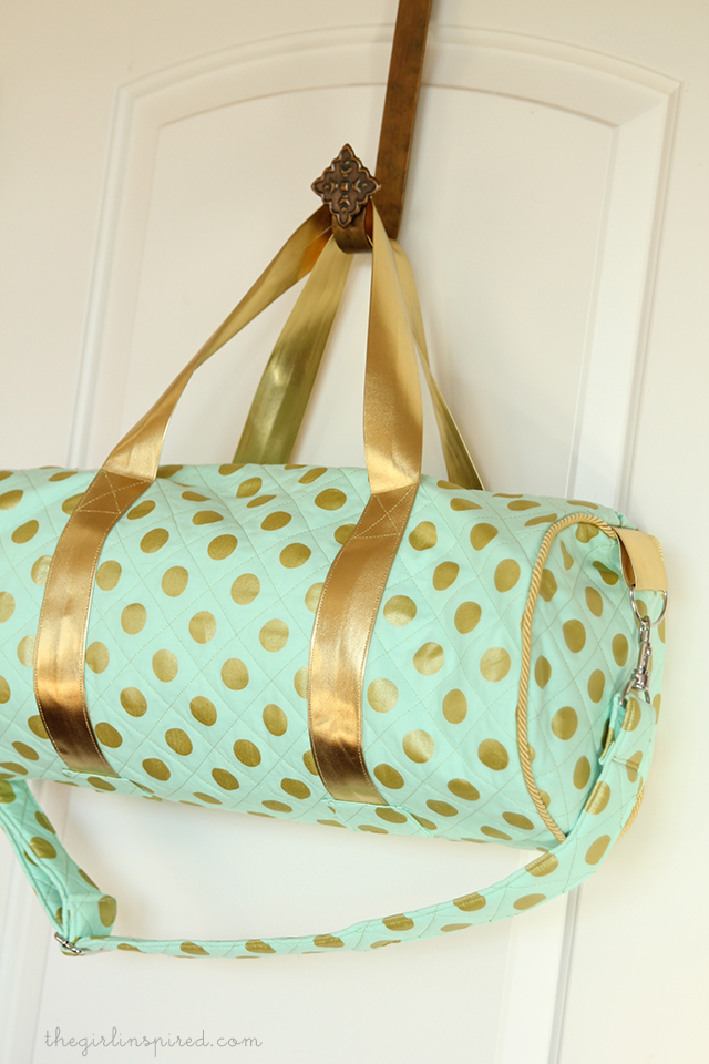 Quilted Luxe Duffel
