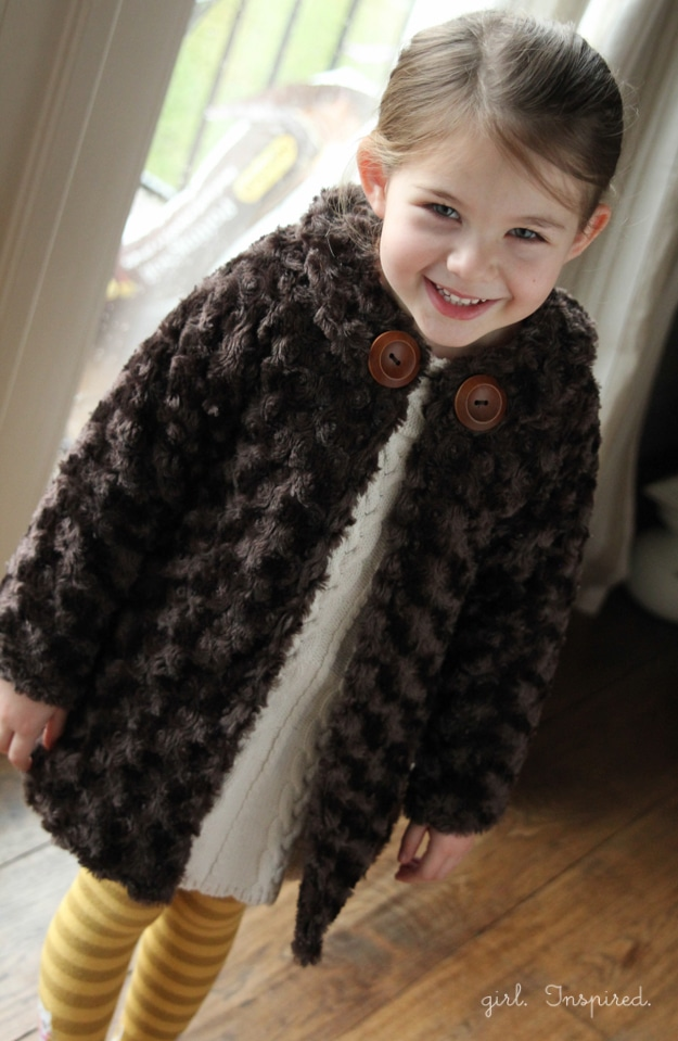 FREE Pattern for Minky Swing Jacket