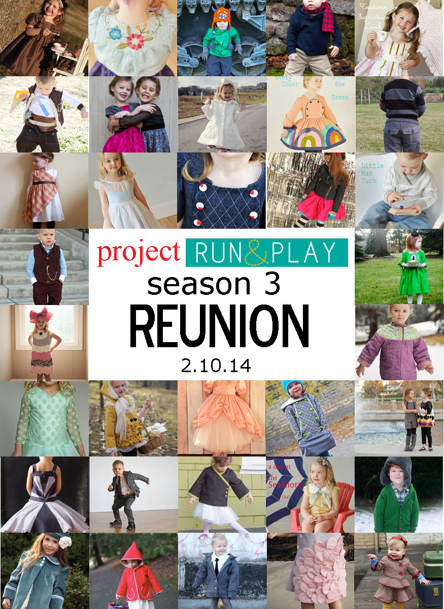 Project Run and Play Reunion