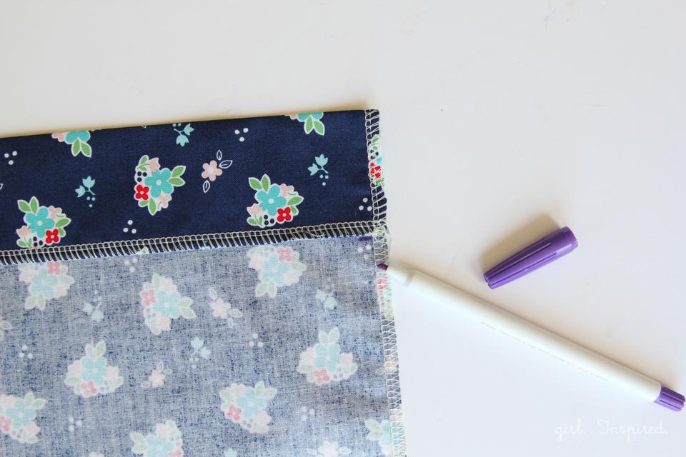 Knapsack Sewing Tutorial - step by step