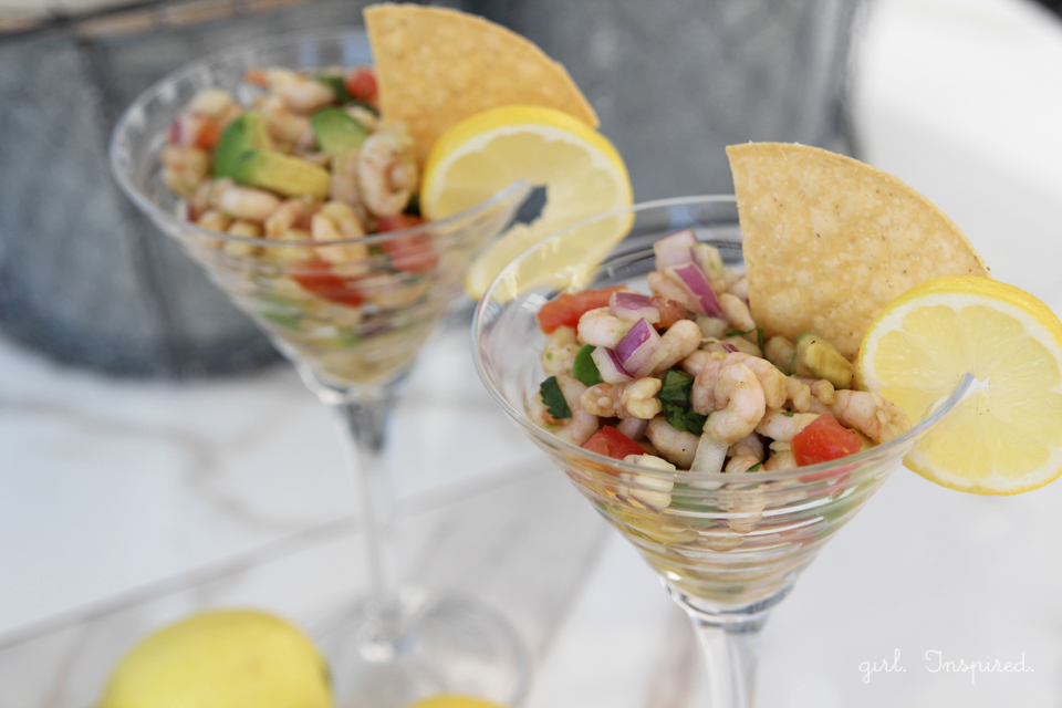 Shrimp Ceviche - so easy to make!