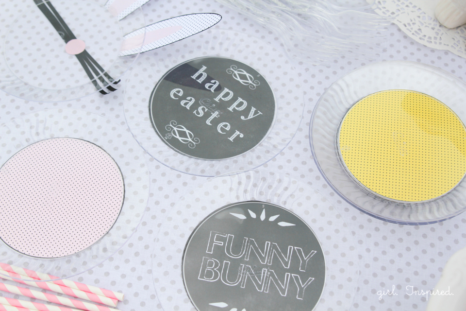Children's Easter Party ideas and printables