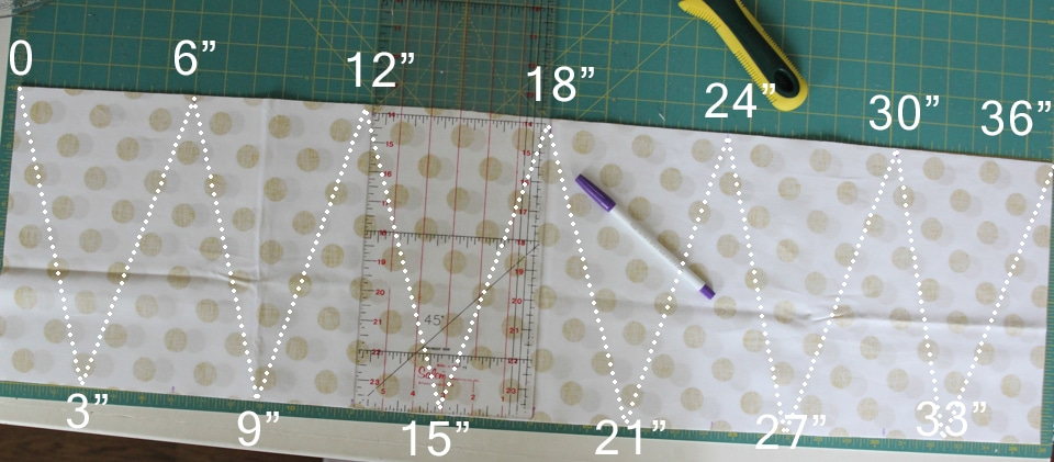 Fabric Pennant Banner Tutorial - girl. Inspired.