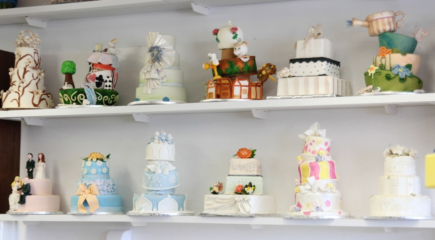 Beautiful Cakes at Wilton School of Cake Decorating