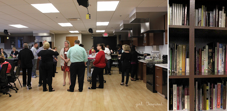 Behind the Scenes at Wilton Enterprises - the test kitchen