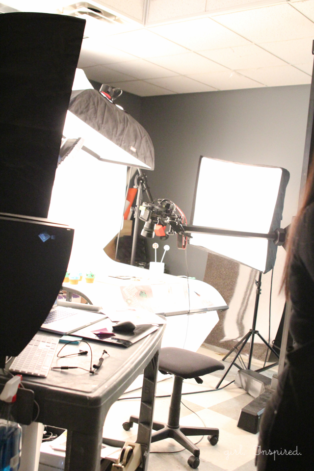 Behind the Scenes at Wilton Enterprises - photography studio!