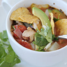Chicken Tortilla Soup - a family favorite!