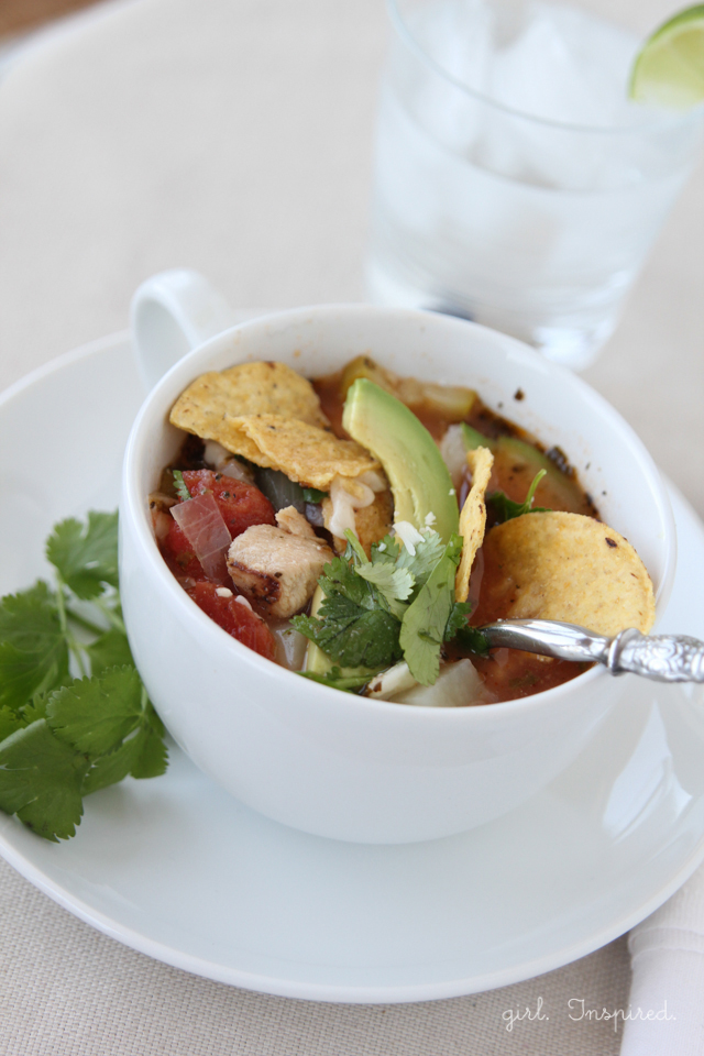 Chicken Tortilla Soup - a family favorite!