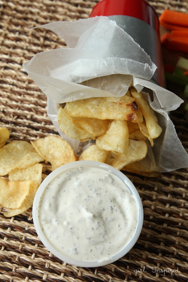 Family Favorite Dill Dip Recipe - great with potato chips and bread!