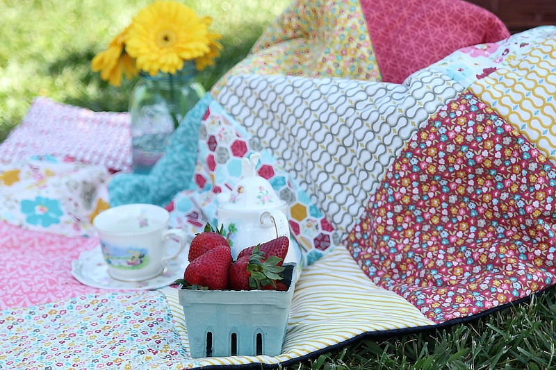 Easy Picnic Quilt