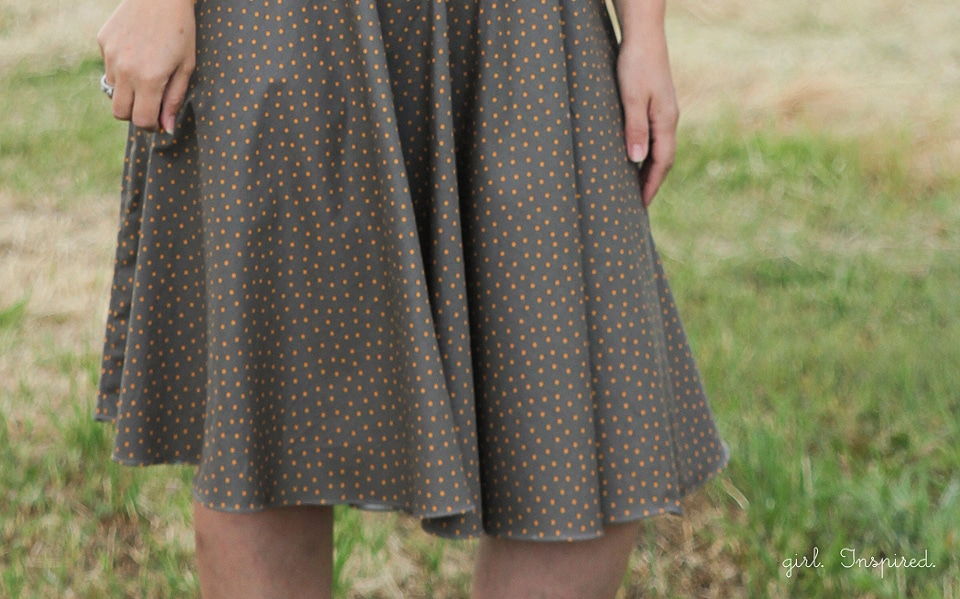Women's Sewing - Polka Dot Dress
